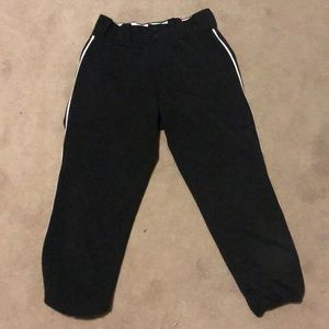 Black Intensity softball/baseball pants